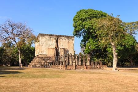 chum: Wat Si Chum , Shukhothai Historical Park, Thailand