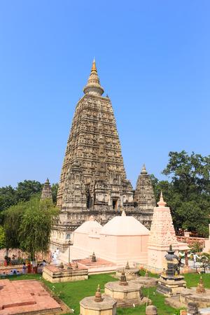gaya: Mahabodhi temple, bodh gaya, India. The site where Gautam Buddha attained enlightenment.