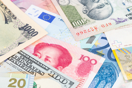 international money: International money currency banknote backgorund