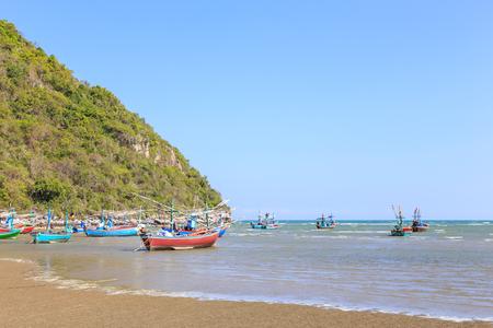 hua hin: Fisherman village near Hua Hin, Thailand