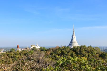 wang: Temple on mountain top at Khao Wang Palace, Petchaburi, Thailand Editorial