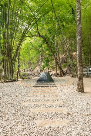 world war 2: Hellfire pass, World War 2 memorial,  Kanchanaburi, Thailand