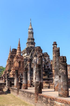 that: Wat Maha That temple, Shukhothai Historical Park, Thailand