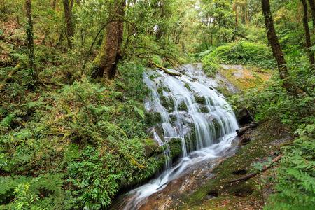 lad: Lad Sadet waterfall, Doi Inthanon National Park, Chiang Mai, Thailand Stock Photo