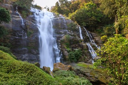 Wachirathan Waterfall, Doi Inthanon National Park, Chiang Mai, Thailand