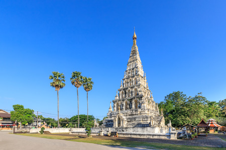 Wat Chedi Liam (Ku Kham) or Temple of the Squared Pagoda in ancient city of Wiang Kum Kam, Chiang Mai, Thailand