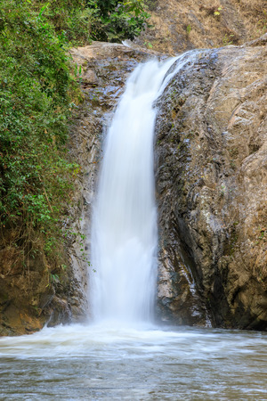 Waterfall in Chae Son National Park, Lampang, Thailand Reklamní fotografie