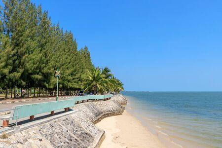 Beach at Laem Pho cape public park, Chaiya, Surat Thani