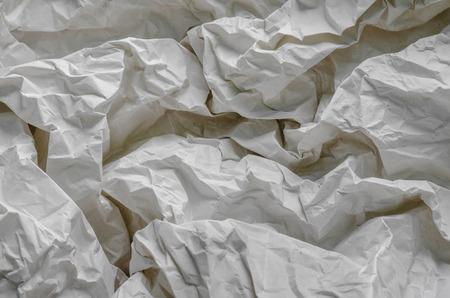 Texture of Crumpled Paper. Imagens