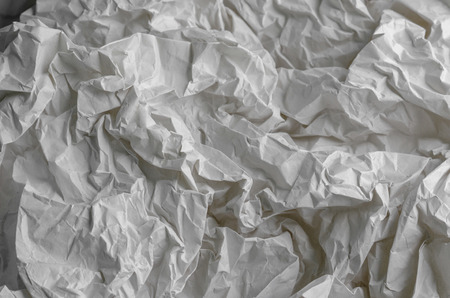 Texture of Crumpled Paper. 免版税图像