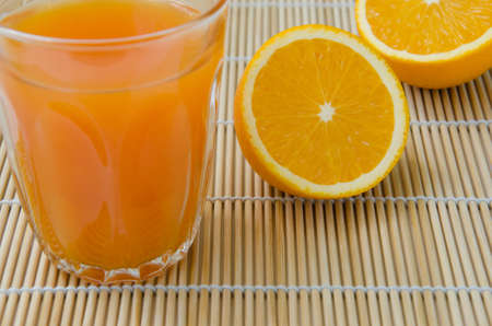 Organic Orange and Orange Juice.