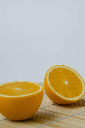 Sliced Organic Orange.