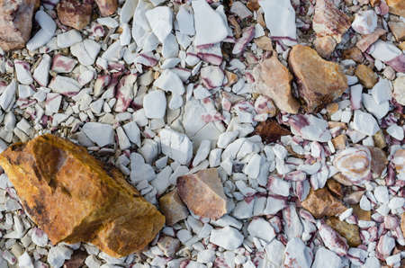 Texture of Pile of Stones.