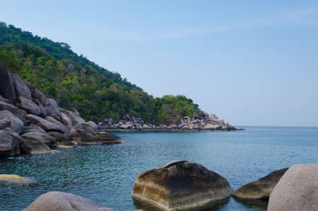Tranquil Bay of Koh Tao at Southern of Thailand. Foto de archivo