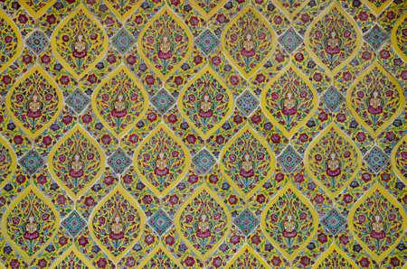 Pattern of Ceramic Tile Wall. Foto de archivo