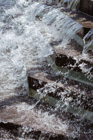 Artificial Waterfall for Outdoor Decoration.