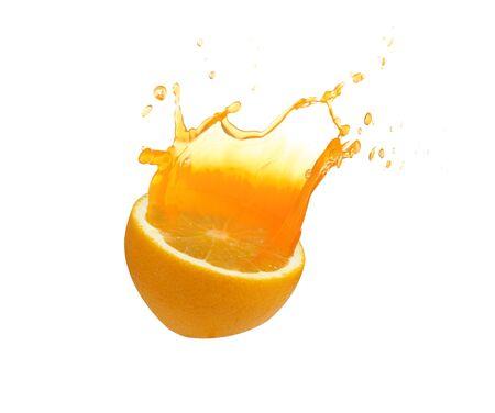 Fresh oranges from the garden
