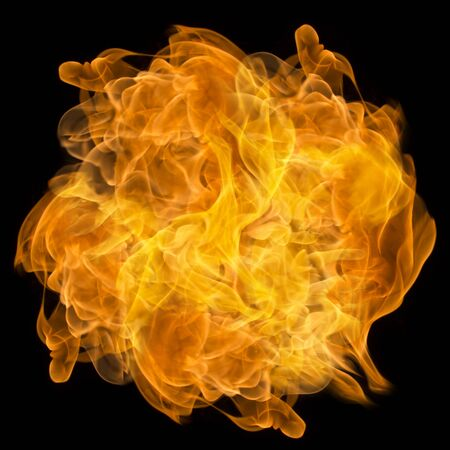 Abstract image, the image of a burning and fiery flame For background 免版税图像