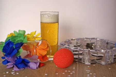 Things you need for a carnival party. photo