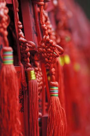 mojo: Red Glücksbringer in China Stock Photo