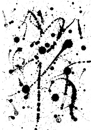 leaden: Vector illustration, black watercolor splash background