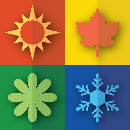 flat: Season Flat Icon