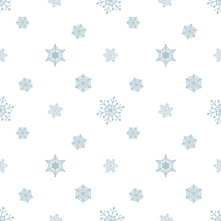 Snowflake Blue Pastel Colour White Background Christmas Pattern Classy Christmas Pattern Wallpaper