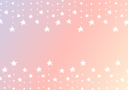Falling star abstract pink pattern design. Vectores