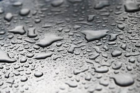 wet wallpaper: Drops of water on the floor.