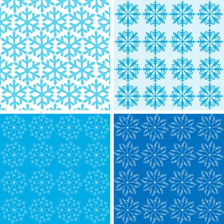 pattern blue tone vector Stock Vector - 26056633