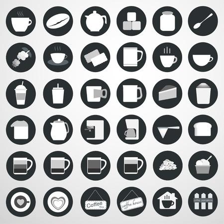 Kaffee-Symbol, Vektor-Illustration