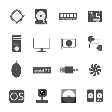 icon computer vector illustration Vector