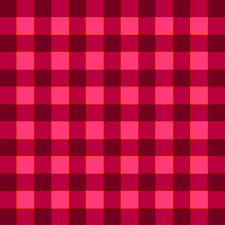 color match: plaid color match ruby color tone pattern, vector illustration