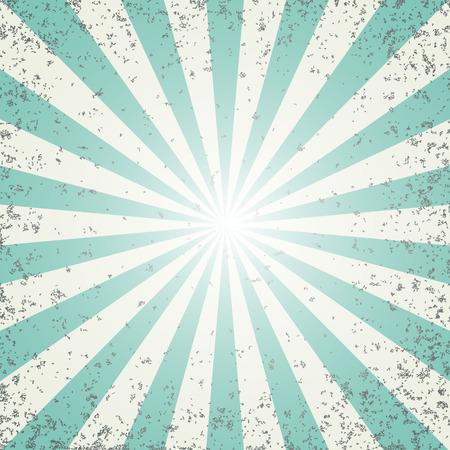 Sunburst retro pattern design. Vector illustration.
