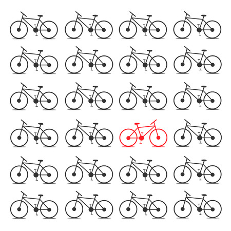 featured: Different bicycle. Opposite concept.