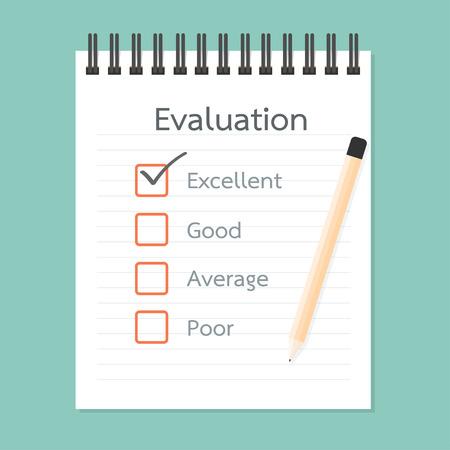 papel de notas: Libro de Evaluaci�n y Control de calidad