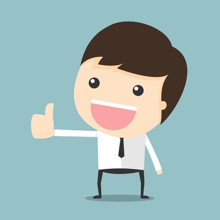 thumbs up man: Thumbs up man Illustration