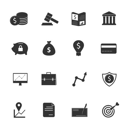 web banking: Bank icon