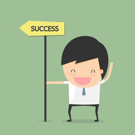 idea hurdle: businessman success