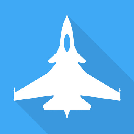supersonic plane: Jet fighter aircraft sign
