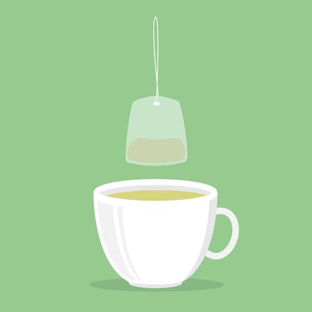 green tea cup: green tea cup