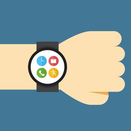watch: smart watch