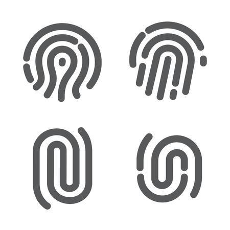 fingerprint: Set of fingerprint