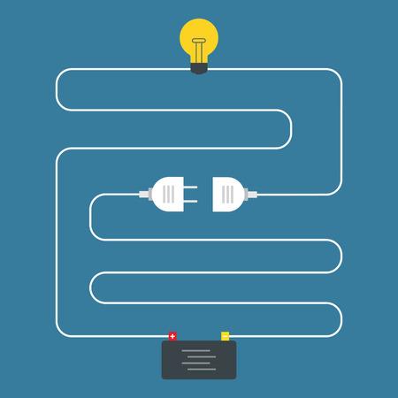 circuitos electricos: Circuito. Concepto de conector. Dise�o plano Vectores