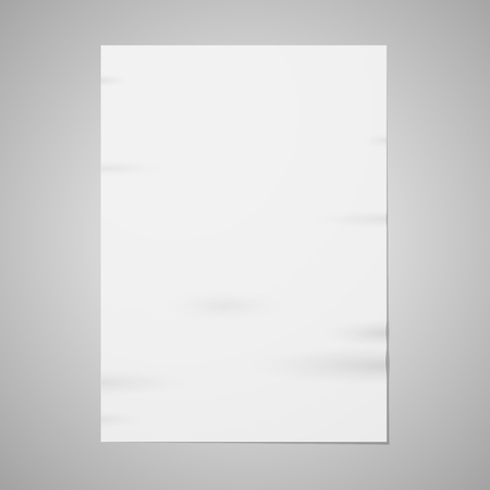 stack of documents: Blank paper Illustration