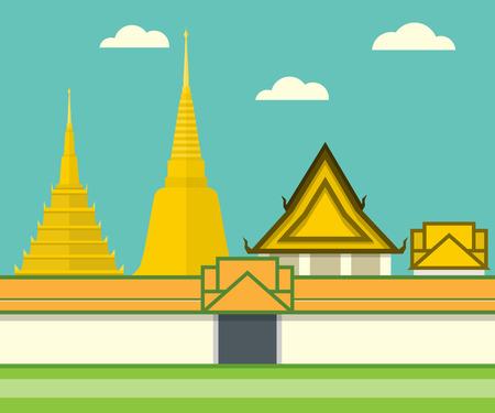 monasteries: Thailand Temple Landmark