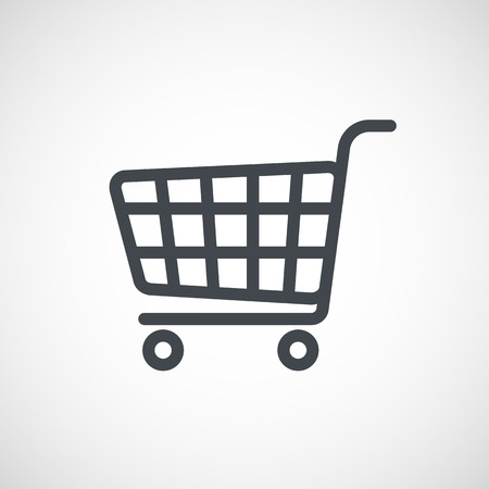 shopping cart icon: Shopping Cart Icon Illustration