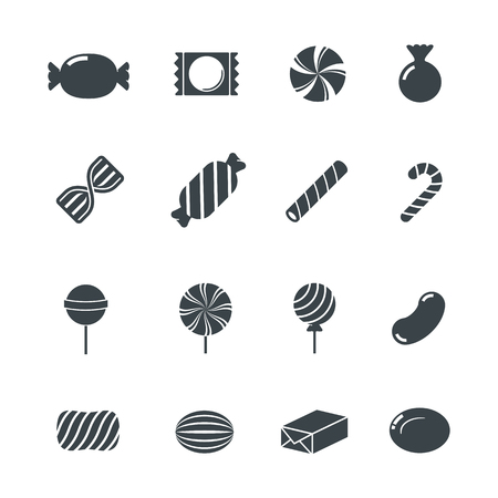 sweet food: Candy Icons.