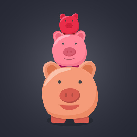 3 little pigs: Three pigs cute.