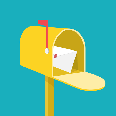 Mail box Ilustrace